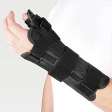 Бандаж на лучезапястный сустав с фиксацией большого пальца на левую руку WS-ST (left)