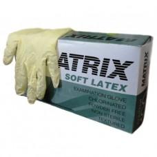 MATRIX Soft Латексные смотровые перчатки (100шт.)