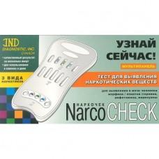 Тест-мультипанель NARCOCHECK для выявления 3 видов наркотических в-в по моче