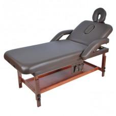 Стационарный массажный стол деревянный FIX-1A (МСТ-07Л)